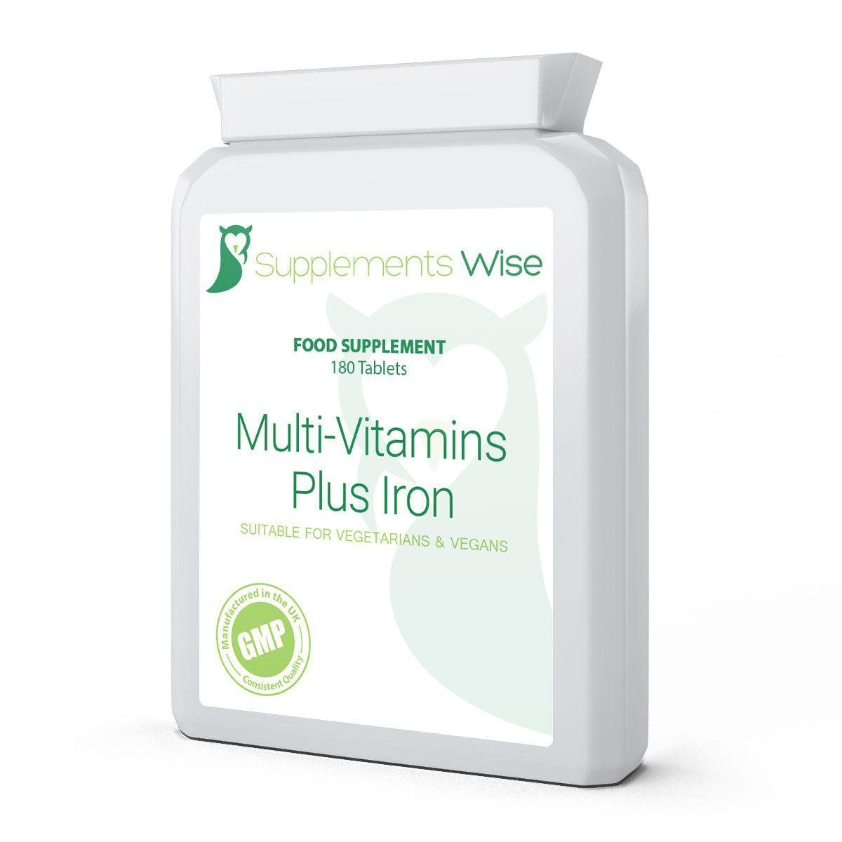 multi-vitamins plus iron