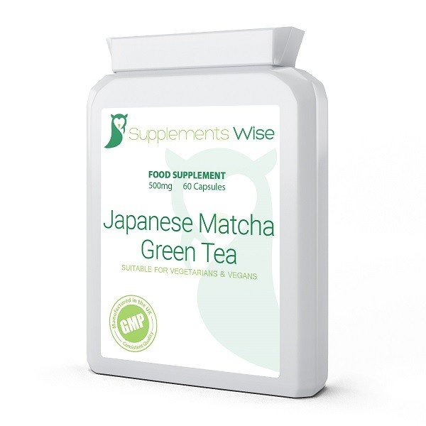 japanese matcha green tea capsules